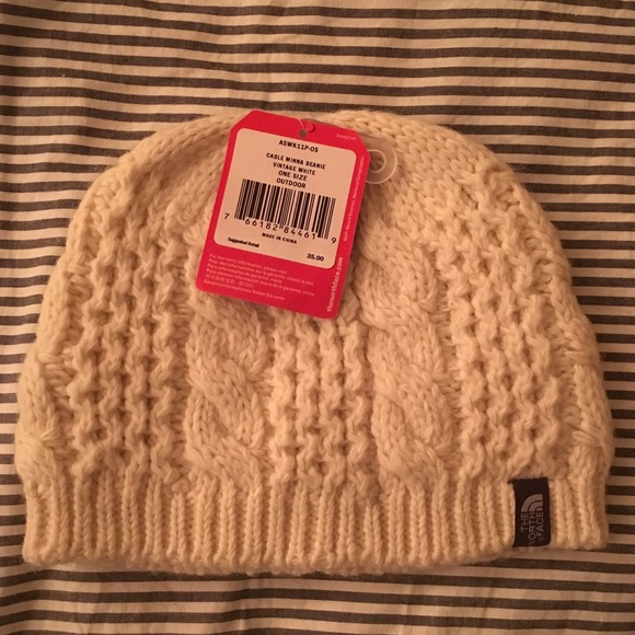03ec48e7d1a BNWT North Face Cable Minna Beanie